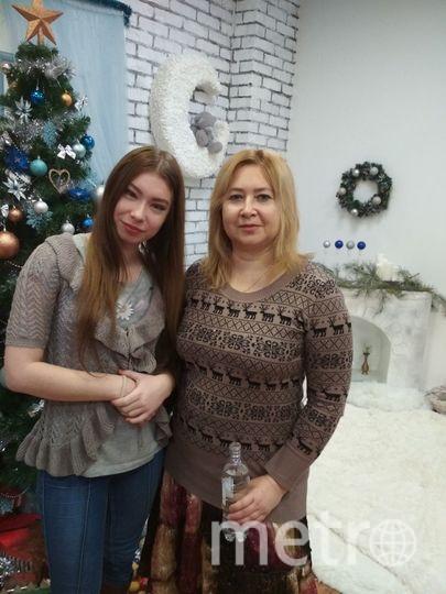 Сергеева Анна (мама) и Сергеева Ирина (дочь). Фото Анна Анатольевна