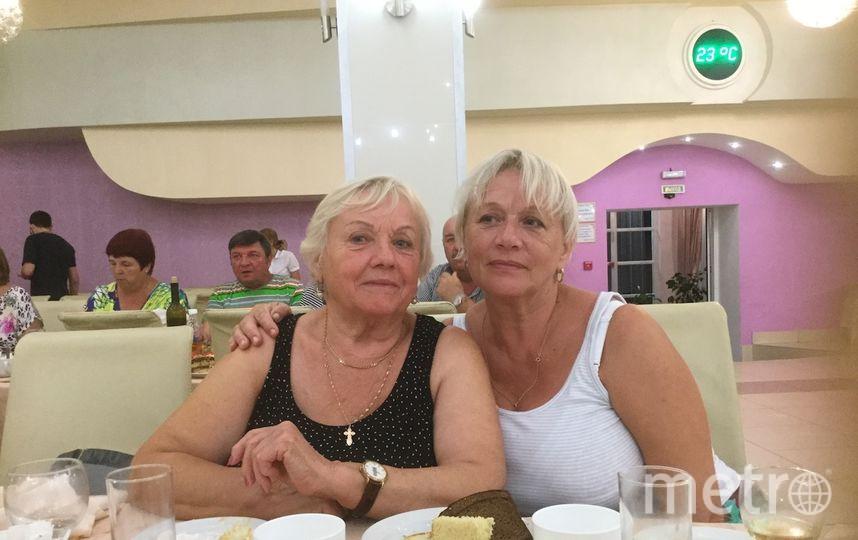 Некрасова Роза Степановна, Богданович Галина Анатольевна. Фото Галина