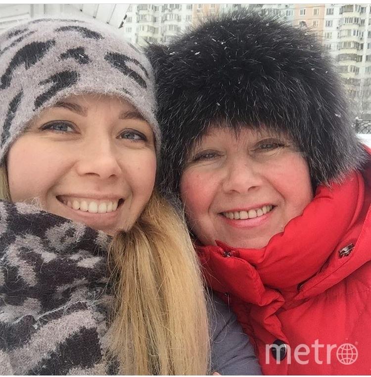 Мы с мамулей на прогулке! Мама - Александра Гусева, Дочь - Наталья Гусева. Фото Наталья
