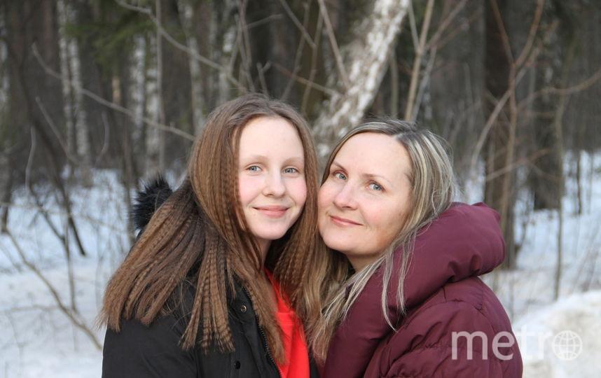 Это я и моя дочь Ульяна Васильевы. Спасибо вам за прекрасные конкурсы! Фото Оксана