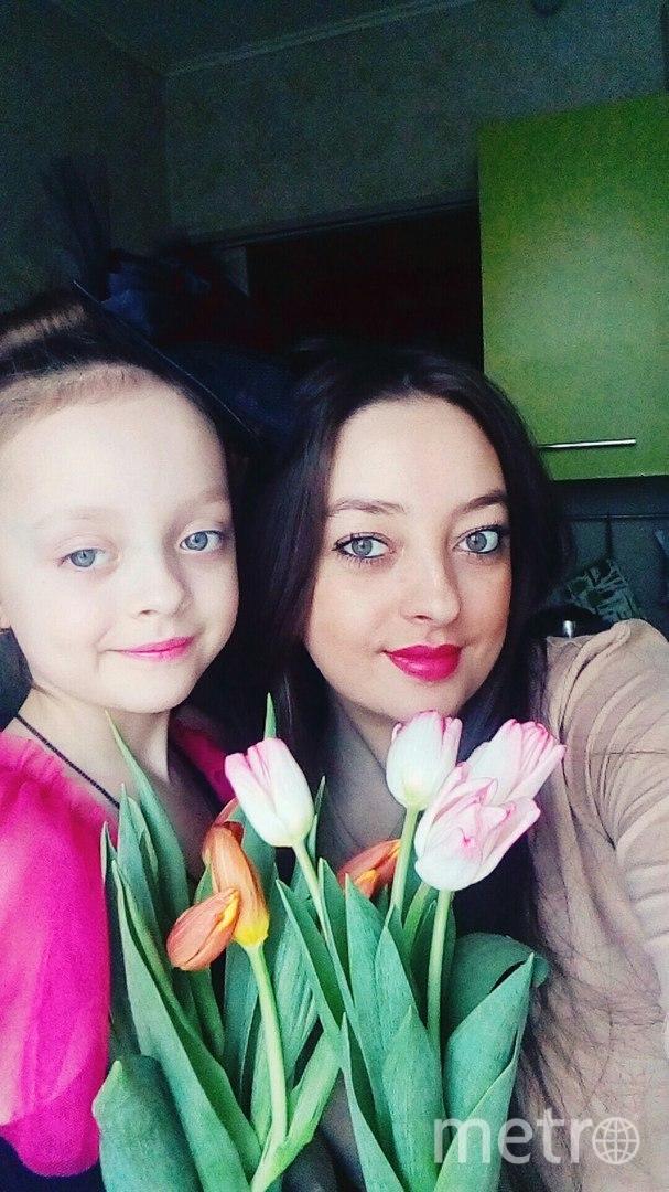 Наталья Ястребова и Дочка Яночка. Фото Наталья