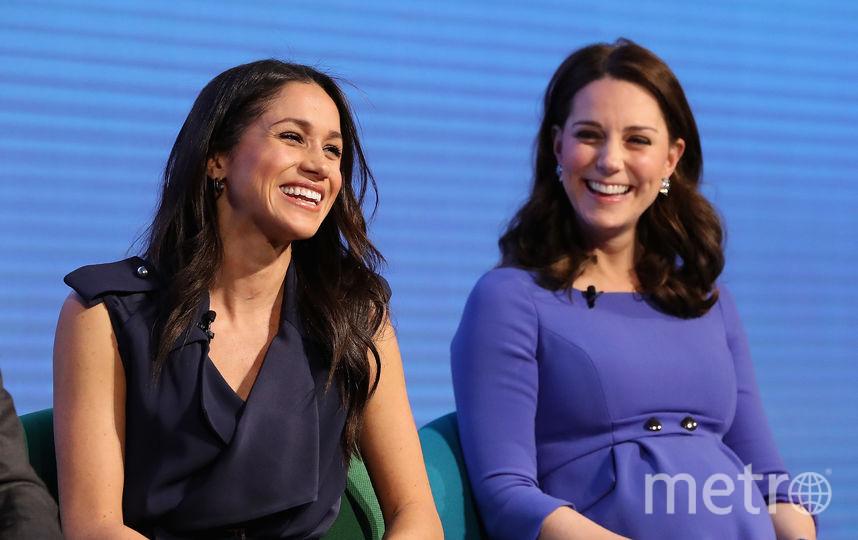 Кейт Миддлтон и Меган Маркл. Фото Getty