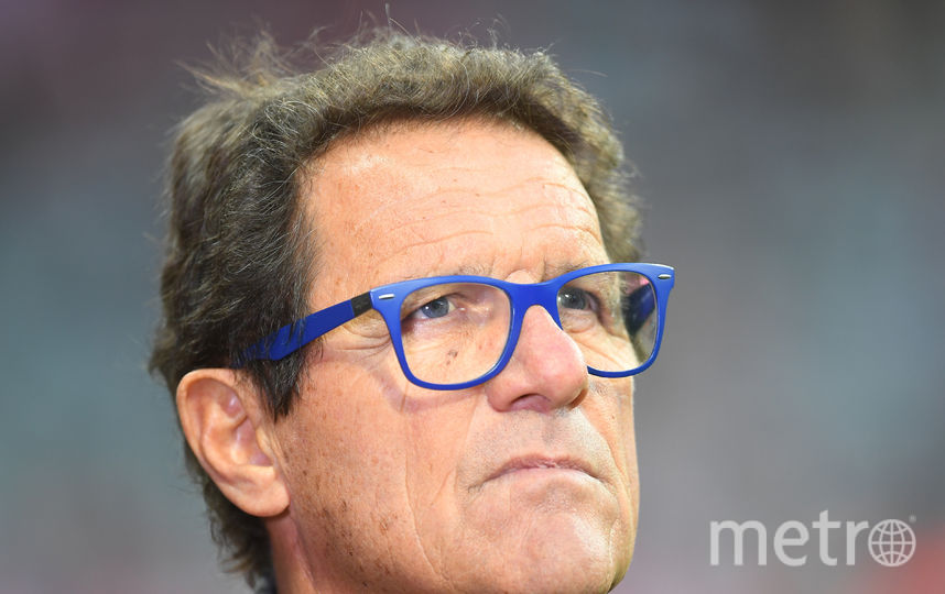 Итальянский тренер Фабио Капелло. Фото Getty