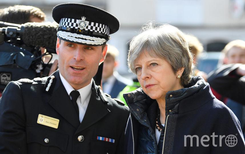 Премьер-министр Великобритании Тереза Мэй. Фото Getty