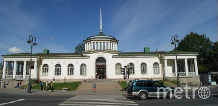 Железнодорожный вокзал станции Павловск. Фото kgiop.gov.spb.ru