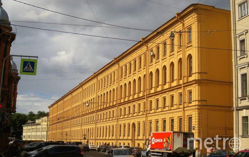 Новый придворно-служительский дом. Фото kgiop.gov.spb.ru