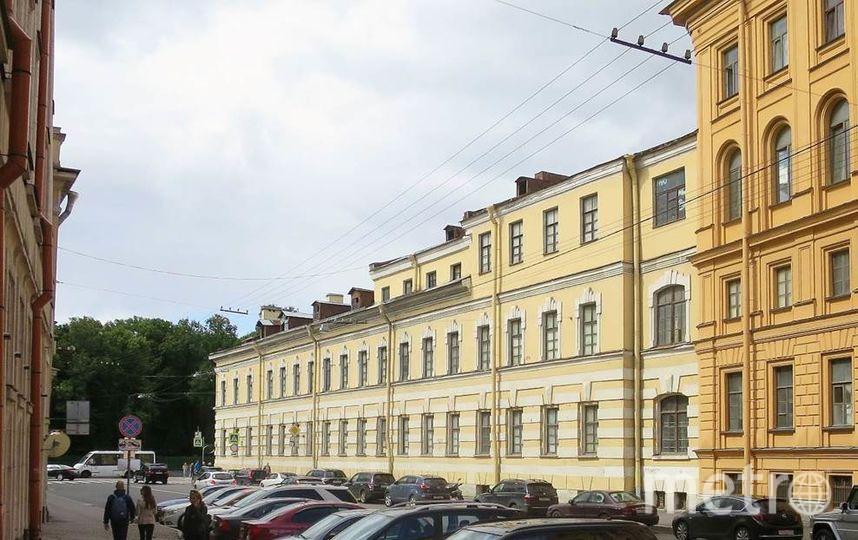Придворно-прачечный дом с придворно-прачечным заведением. Фото kgiop.gov.spb.ru