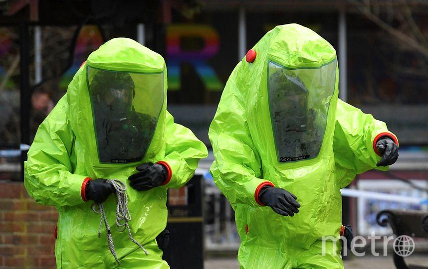 Инцидент произошёл в британском городе Солсбери 4 марта. Фото AFP