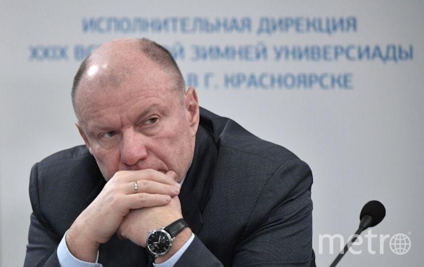 """Гендиректор """"Норникеля"""" Владимир Потанин. Фото РИА Новости"""