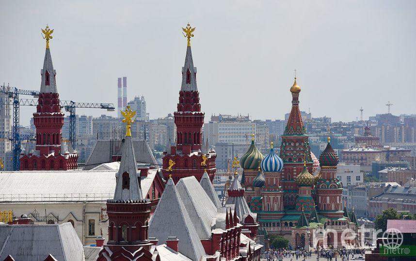"""Московский Кремль. Фото Василий Кузьмичёнок, """"Metro"""""""