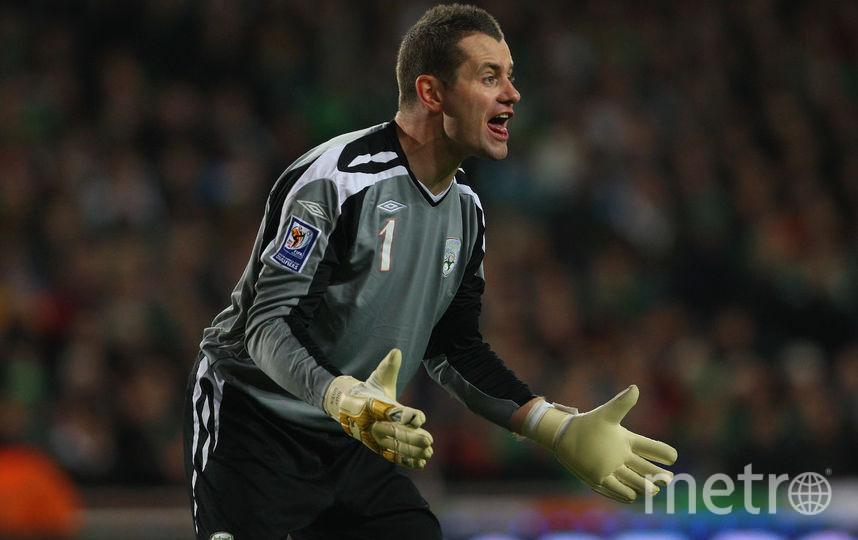 Вратарь сборной Ирландии Шей Гивен во время матча с Францией. Фото Getty