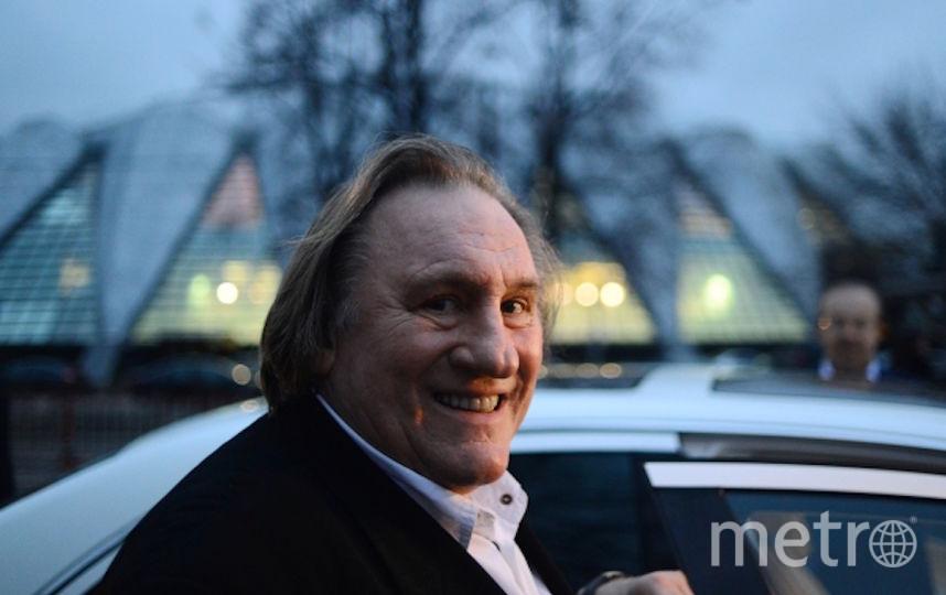 Жерар Депардье. Фото РИА Новости