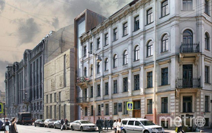 Так будет выглядеть новый музей Достоевского. Фото проект Мастерской Герасимова