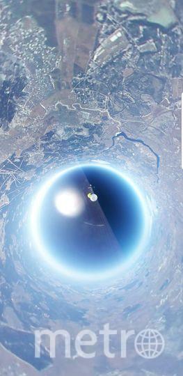 Запуск игрушечной машины в страстосферу. Фото предоставлено Никитой Поповым