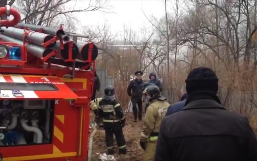 В центре Хабаровска разбился вертолет: Видео. Фото Скриншот Youtube