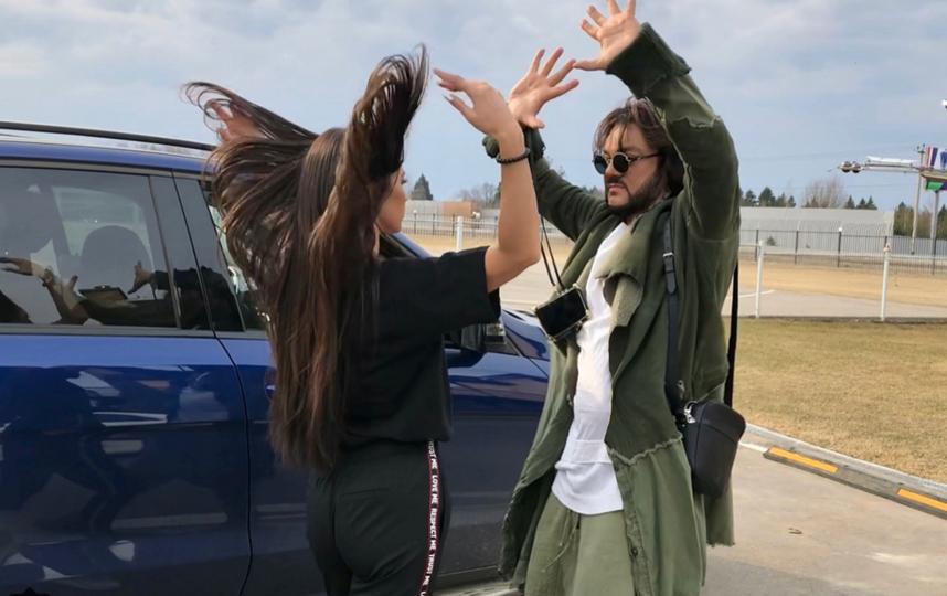 Ольга Бузова и Филипп Киркоров показали танец в Instаgram. Фото Скриншот Instagram: @fkirkorov