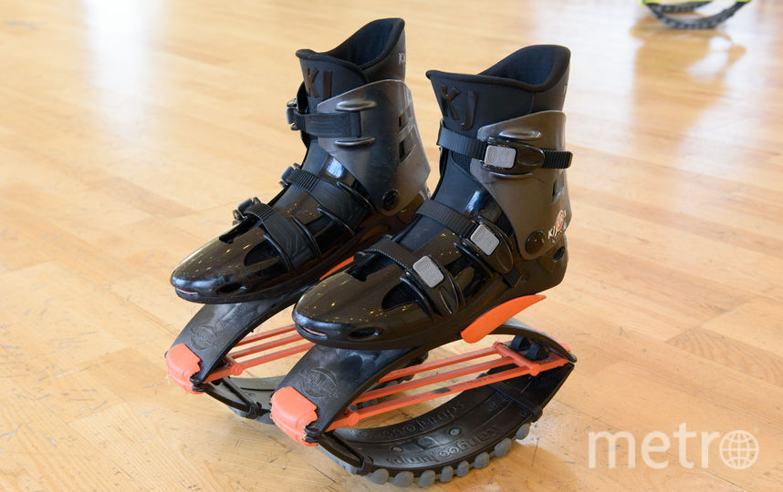 """Ботинки с разным сопротивлением амортизаторов способны выдержать разный вес. Эти – до 120 килограммов. Фото Василий Кузьмичёнок, """"Metro"""""""