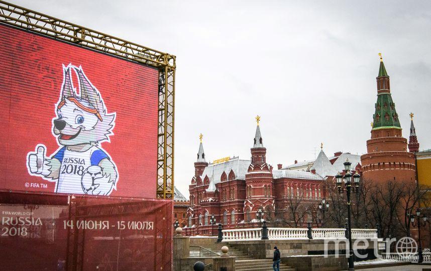 Чемпионат мира по футболу пройдёт на 12 стадионах в 11 городах России с 14 июня по 15 июля 2018 года. Фото AFP