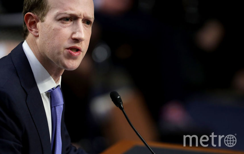 Основатель Facebook Марк Цукерберг. Фото Getty