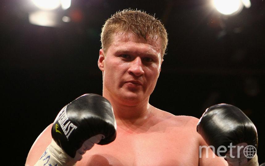 Российский боксёр Александр Поветкин. Фото Getty
