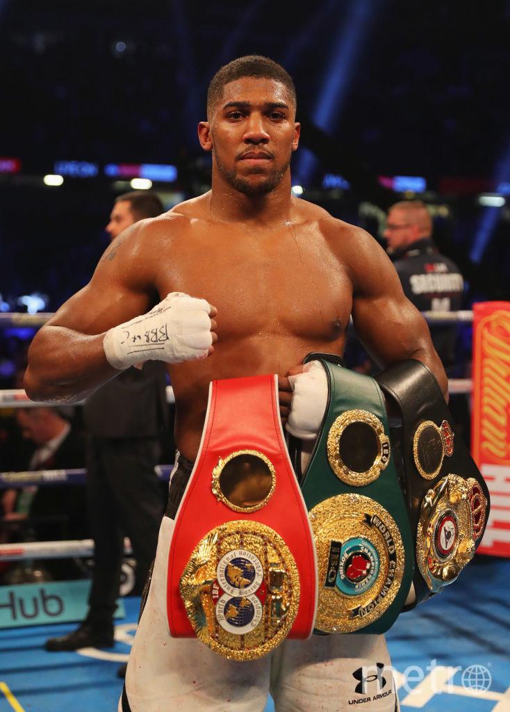 Британский боксёр Энтони Джошуа. Фото Getty