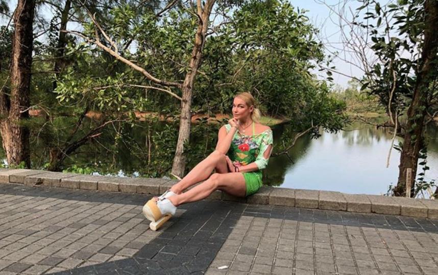Волочкова на Пхукете. Фото instagram.com/volochkova_art