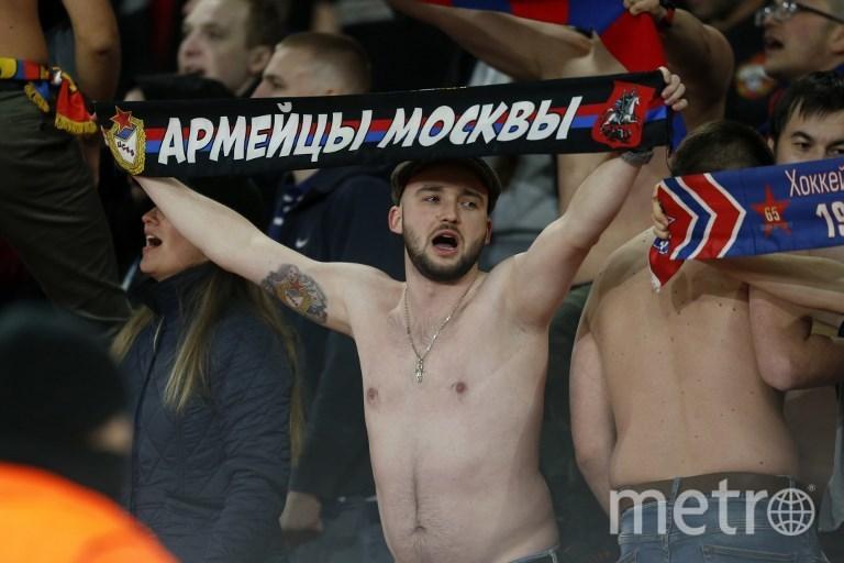 "Матч ""Арсенал"" - ЦСКА в Лондоне. Фото AFP"