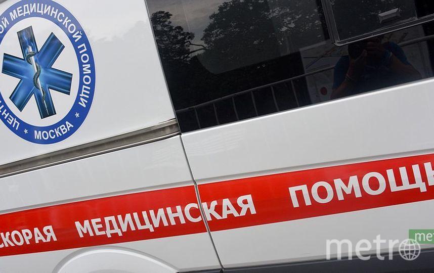 Автобус с детьми перевернулся в Подмосковье. Фото Василий Кузьмичёнок