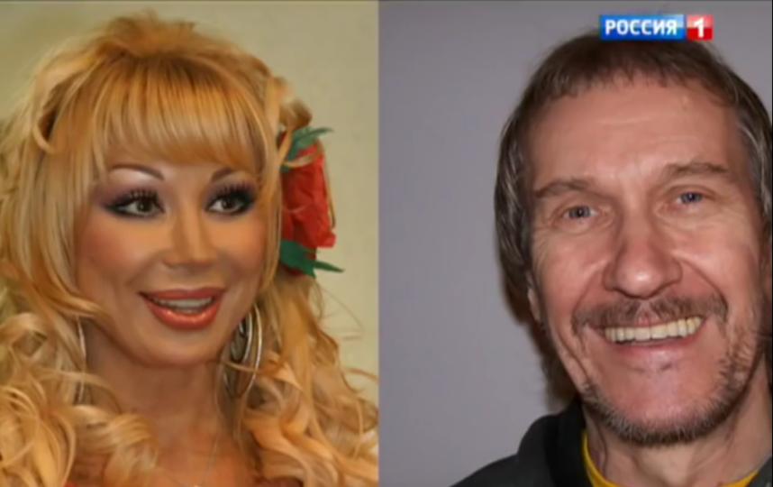 Маша Распутина и ее бывший муж Владимир Ермаков. Фото Скриншот Youtube