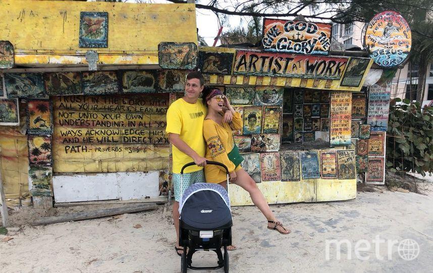 """Нелли Ермолаева с мужем и сыном. Фото Предоставлено каналом """"Dомашний""""."""