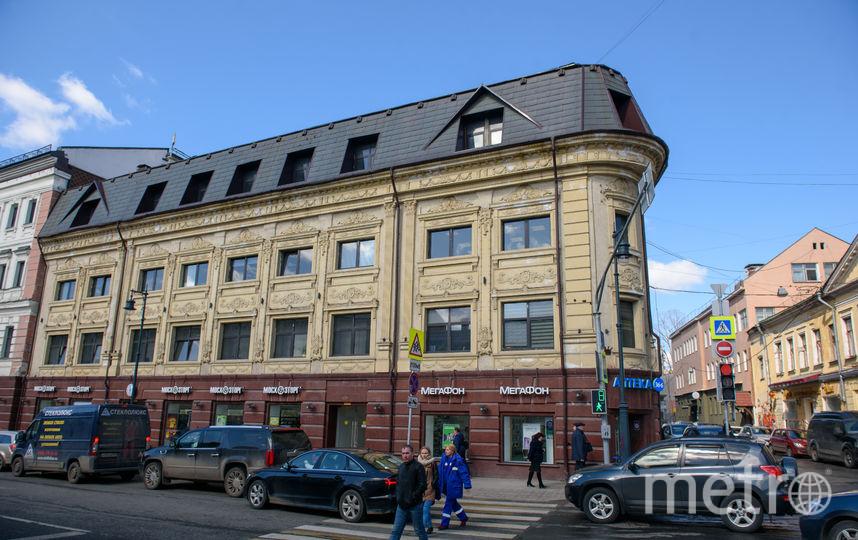 Солянский проезд, д. 3. Фото Василий Кузьмичёнок