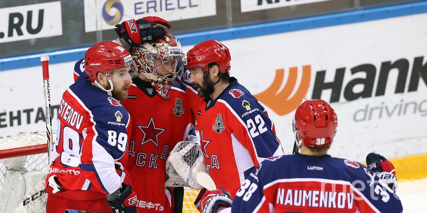 ЦСКА может стать вторым чемпионом из Москвы. Фото photo.khl.ru | Владимир Беззубов