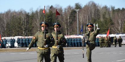 Первая репетиция Парада Победы прошла в Петербурге