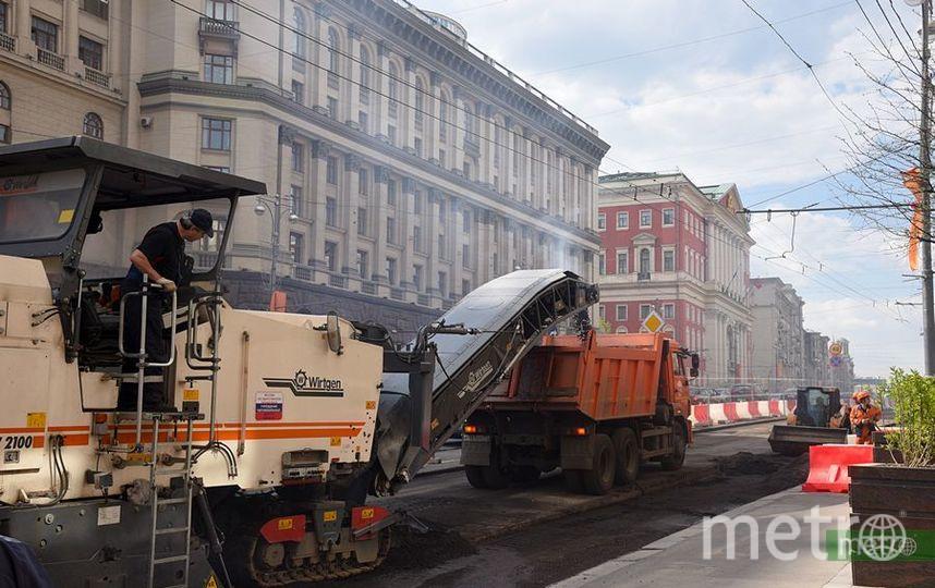 В Москве перекроют Фрунзенскую набережную. Фото Василий Кузьмичёнок