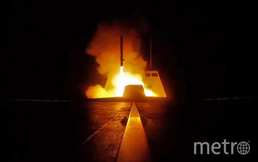 Ракетный удар США по Сирии. Фото AFP
