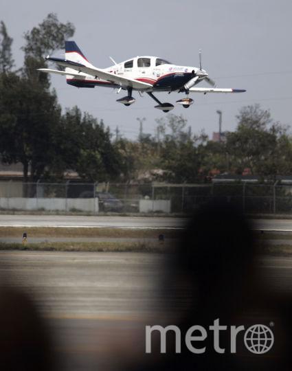 Легкомоторный самолёт. Фото Getty