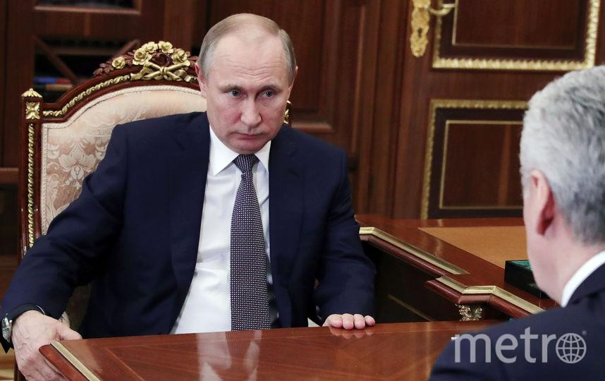 Путин поддержал идею Собянина о создании в Москве инновационного кластера. Фото AFP