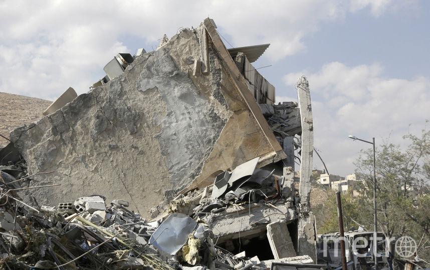 От ракетных ударов в Сирии разрушены как военные, так и гражданские объекты. Фото AFP