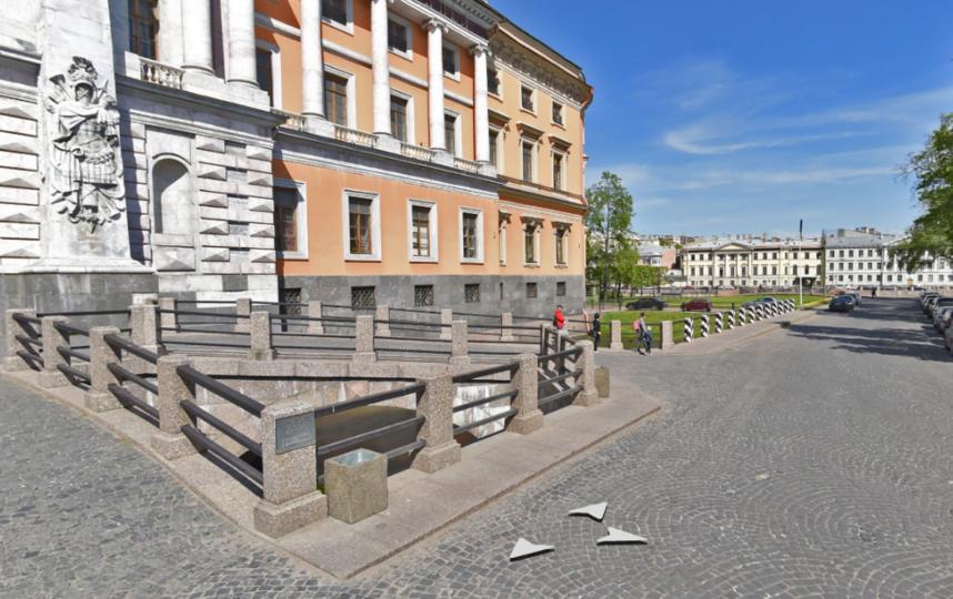 Михайловский (Инженерный) замок. Фото Яндекс.Панорамы