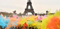 Color Run 2018: В Париже прошёл ежегодный красочный забег