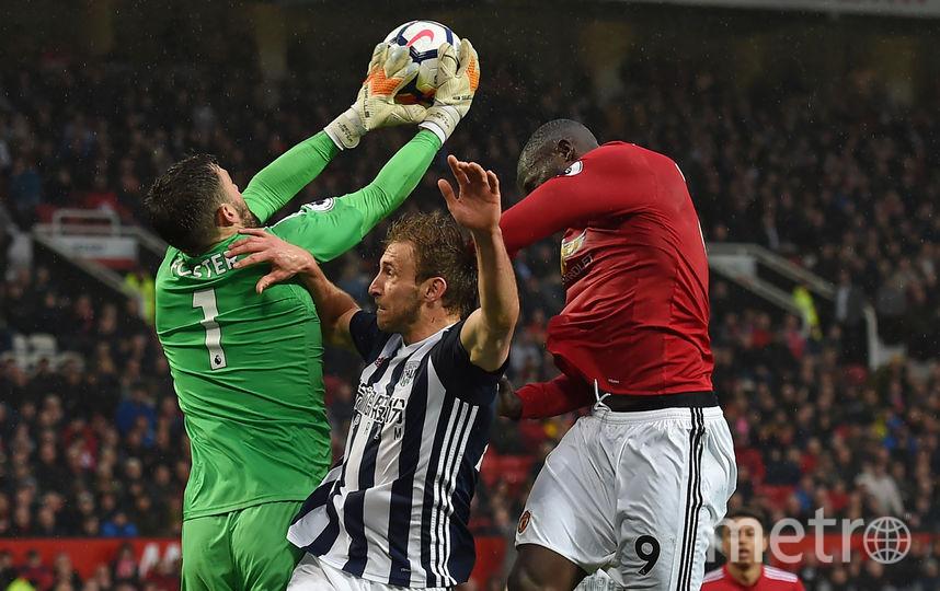Матч Манчестер Юнайтед — Вест Бромвич. Фото AFP