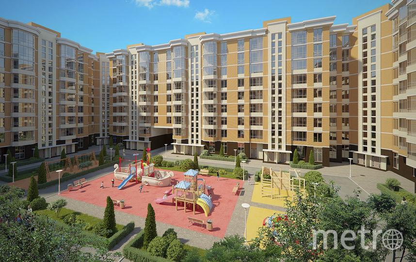 ЖК Ломоносовъ - жилой комплекс СК Петрострой в г. Ломоносов рядом с верхним парком и красным прудом.