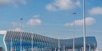 В новом аэропорту Симферополя