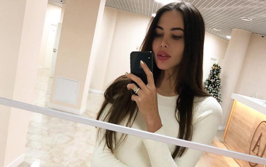Модель Анастасия Решетова, фото из соцсети. Фото instagram.com/volkonskaya.reshetova