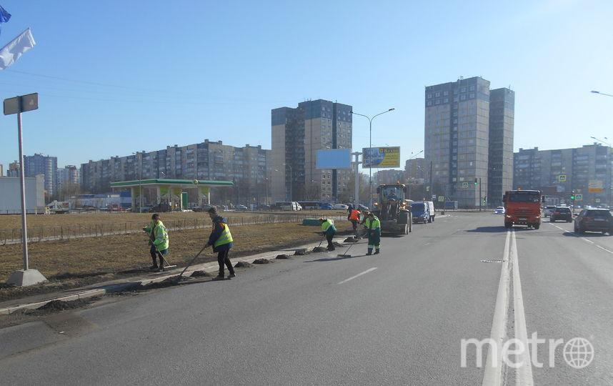 Уборка улиц в Петербурге в апреле. Фото gov.spb.ru