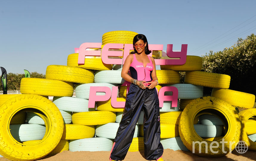 Рианна на Coachella надела и такое. Фото Getty