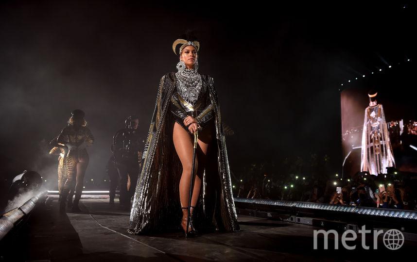 Бейонсе тоже удивила нарядами на Coachella-2018. Фото Getty