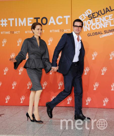 Анджелина Джоли и Брэд Питт. Фото Getty