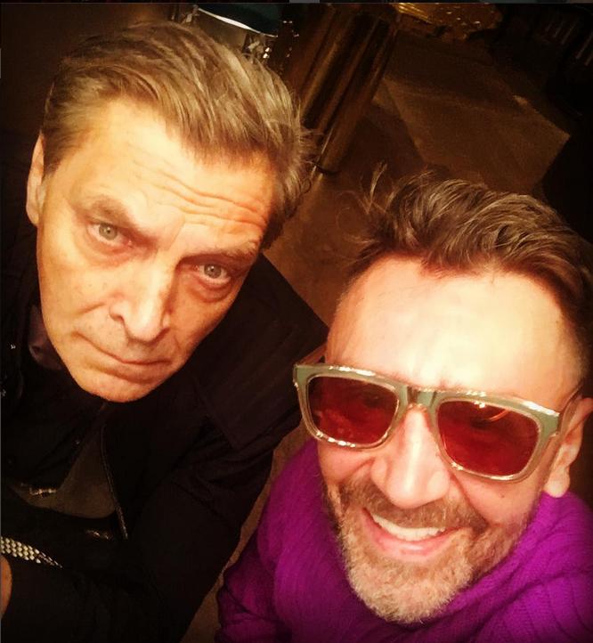 Сергей Шнуров и Александр Невзоров. Фото Скриншот Instagram: @shnurovs