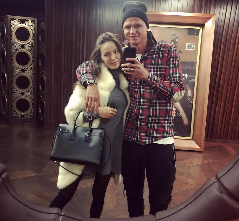 Анастасия Костенко и Дмитрий Тарасов, фотоархив. Фото Скриншот https://www.instagram.com/tarasov23/